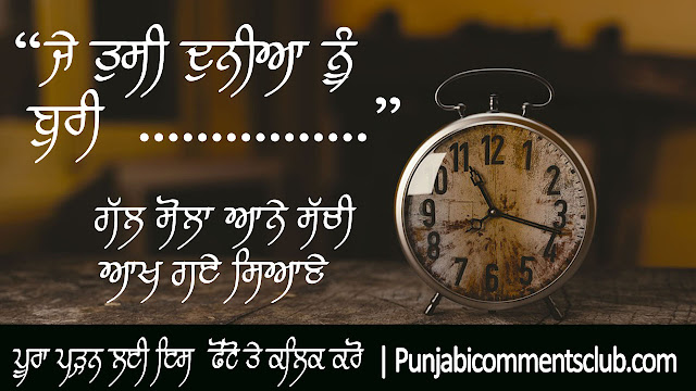 प्रेरणादायक विचार in Punjabi language