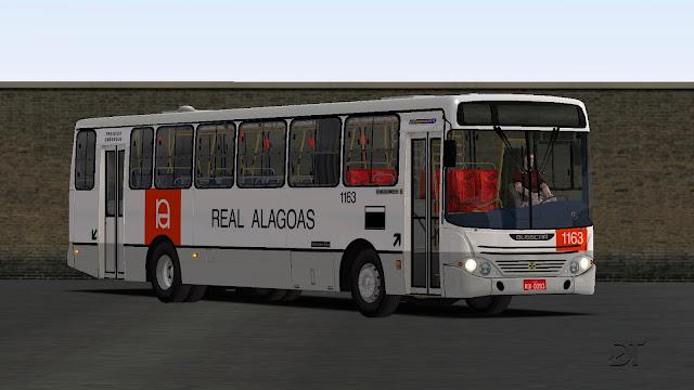 OMSI 2 - Pintura da Real Alagoas para o Busscar Urbanuss 1998 MB e VW Euro II