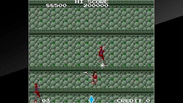 The Legend of Kage (Switch): jogo clássico de ação lançado para arcades está disponível na eShop