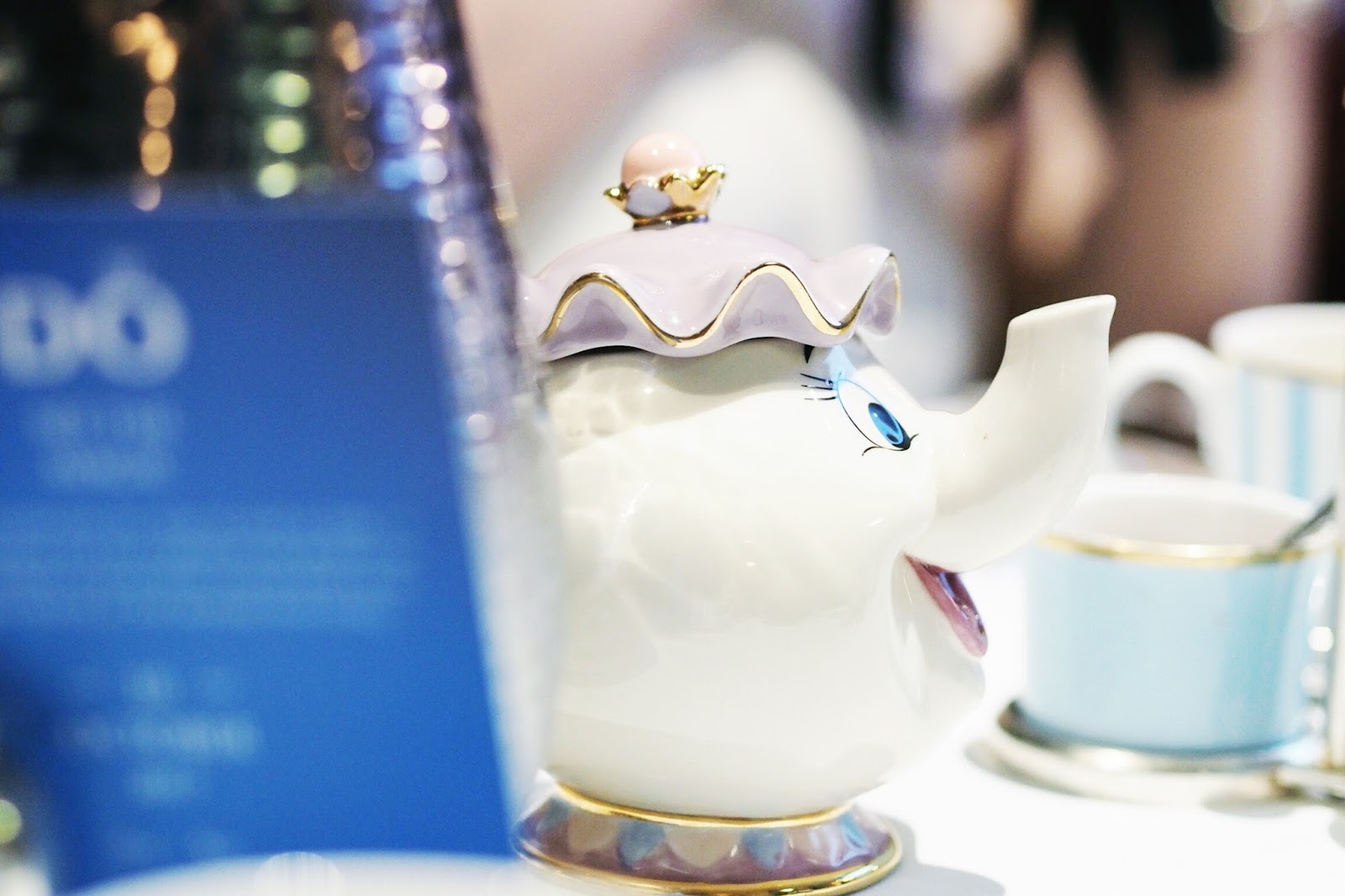 Pandora Disney collection A tale as old as time afternoon tea