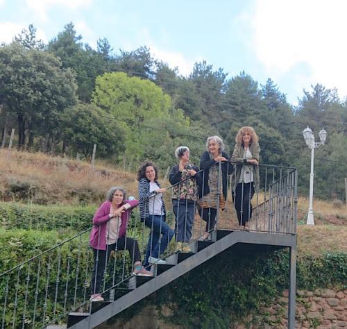 el equipo de las Visigóticas modernas: Fátima, Mimi, Nieves y María.