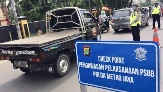 Survei Median: Mayoritas Warga DKI Pilih PSBB Ketimbang PSB Mikro