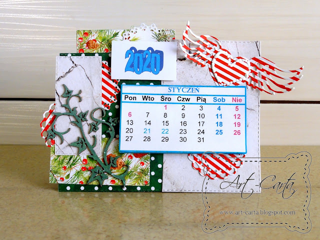Kalendarzyk na biurko