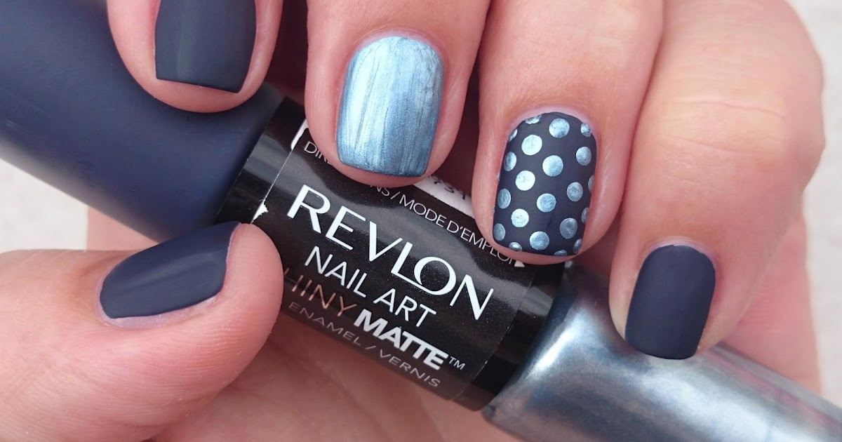 Dahlia Nails Revlon Nail Art Duos