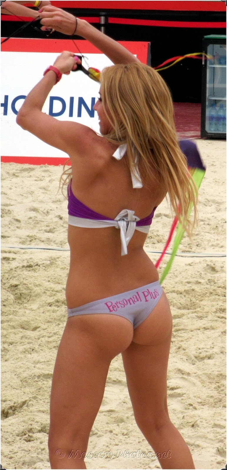 Beach Volley Girl in Moscow