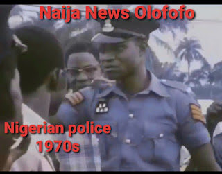 picture of a nigeria policeman in the 1970s
