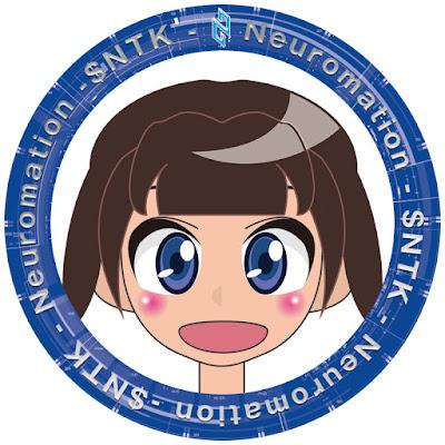 Neuromation応援リング 女の子