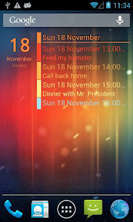 Clean Calendar Widget Pro for Android