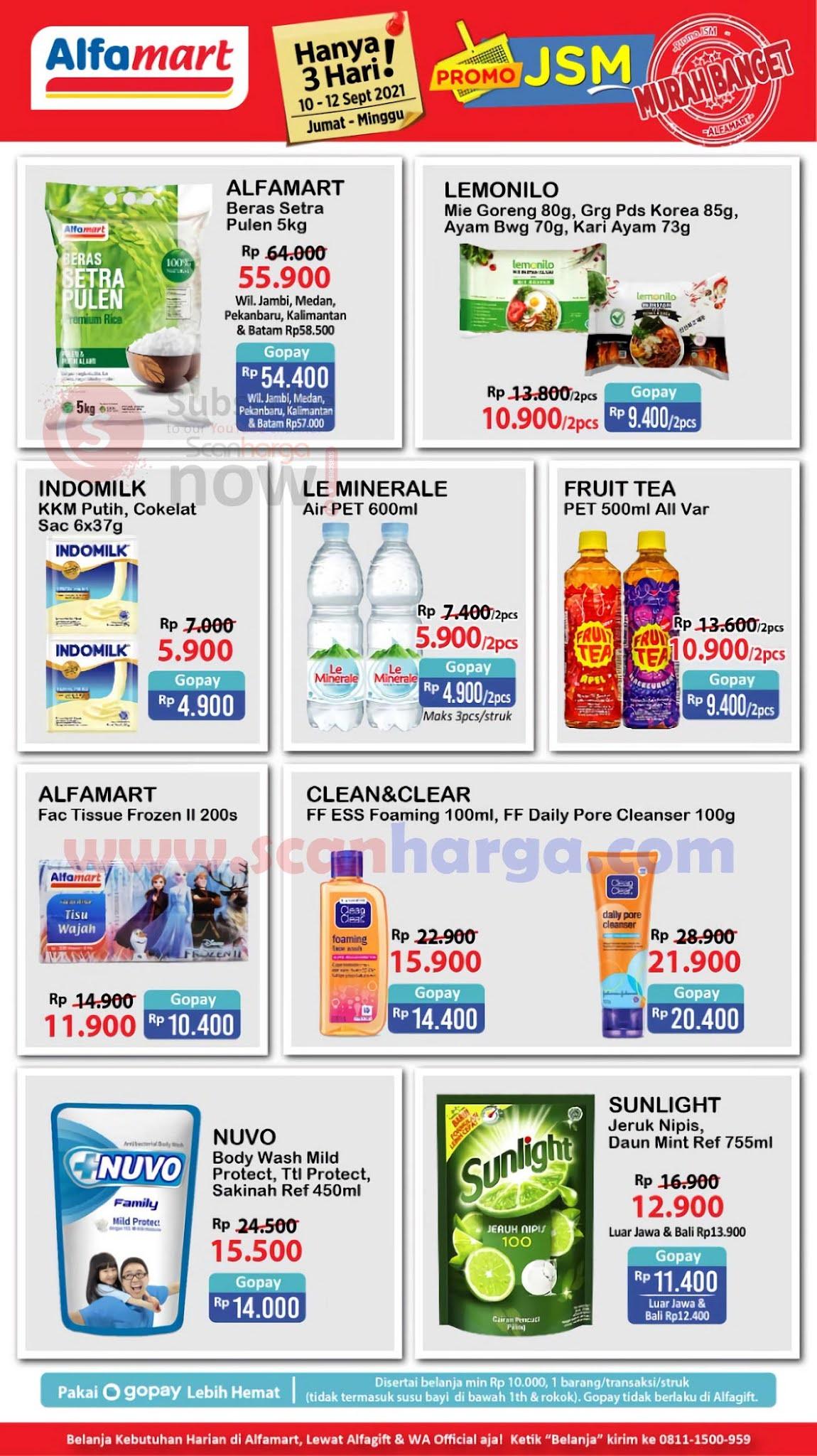 Katalog Promo JSM Alfamart Weekend 10 - 12 September 2021 2