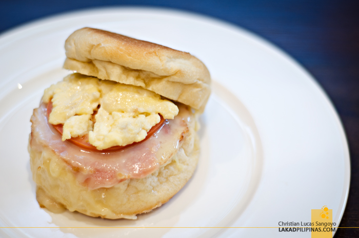 Crema Marriott Manila Breakfast Sandwich