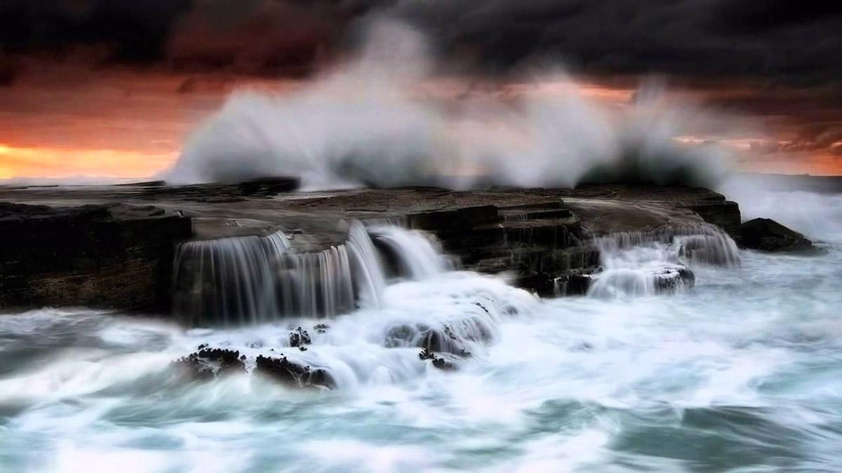 Fotografi landscape impressi merupakan sebuah panorama seni yang ditampilkan pada sebuah foto