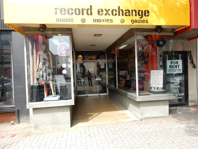 Record Exchange - Washington D.C. - store front