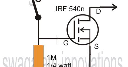 Simple Mosfet Switch Circuit with Delay Timer ~ Electronic