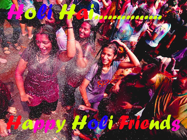 Happy Holi Image Message 2017
