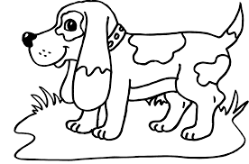 Dog Animal Coloring Pages Print Online