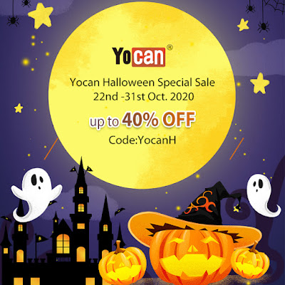 YocanOnline having a huge vape Halloween flash sale