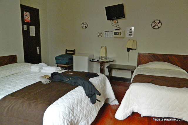 Quarto do Hotel Señorial, Miraflores, Lima