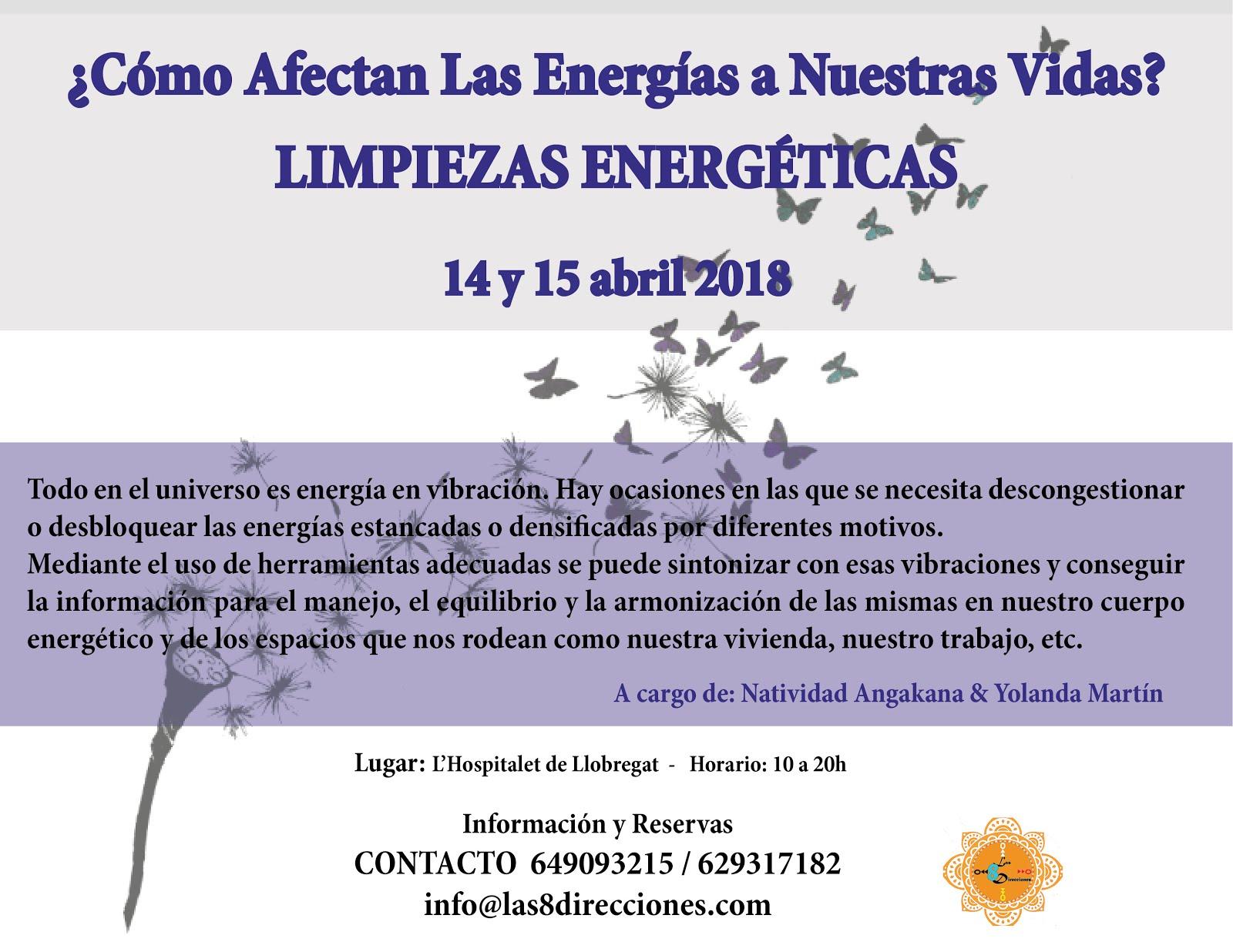 Curso de LIMPIEZAS ENERGÉTICAS
