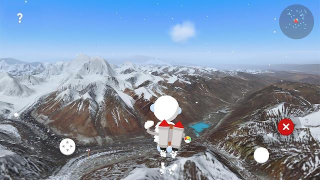 تحميل لعبة The Himalayas لجهاز الأندرويد , The Himalayas spk , عالم التقنيات , بسام خربوطلي تعرف على هذه اللعبة المميزة التي أطلقتها جوجل لتنافس لعبة بوكيمون غو فعلا تستحق التجربة بوكيمون غو