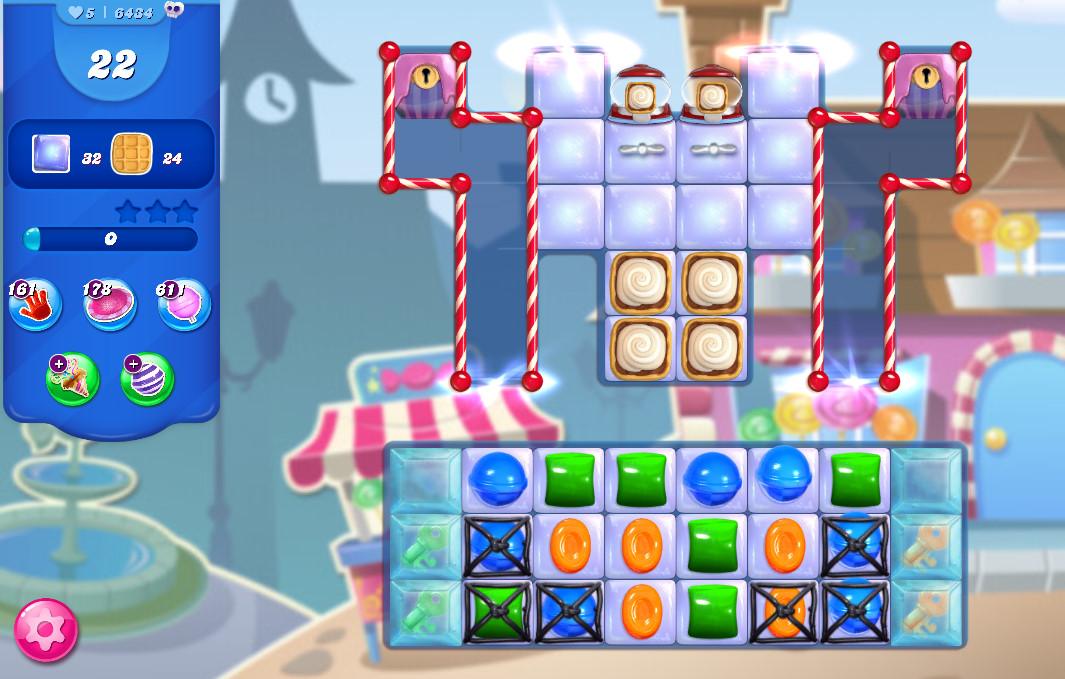 Candy Crush Saga level 6434