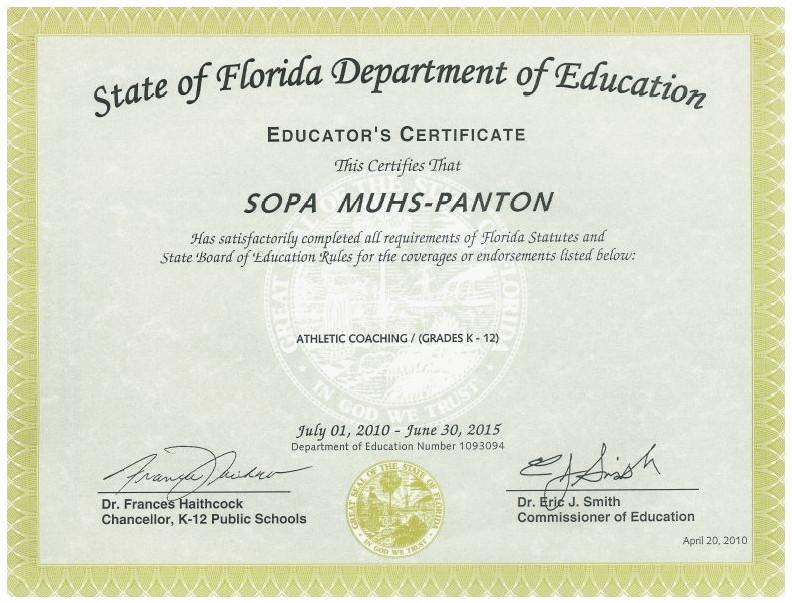 Examples Of Best Certificate