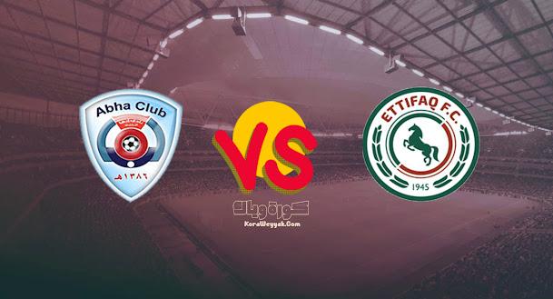نتيجة مباراة أبها والإتفاق بتاريخ 26-08-2021 في الدوري السعودي