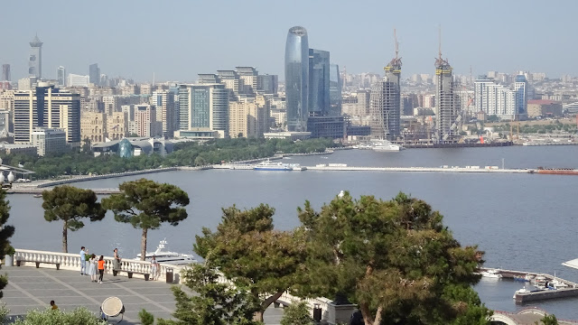 Perfect weather to see all of Baku