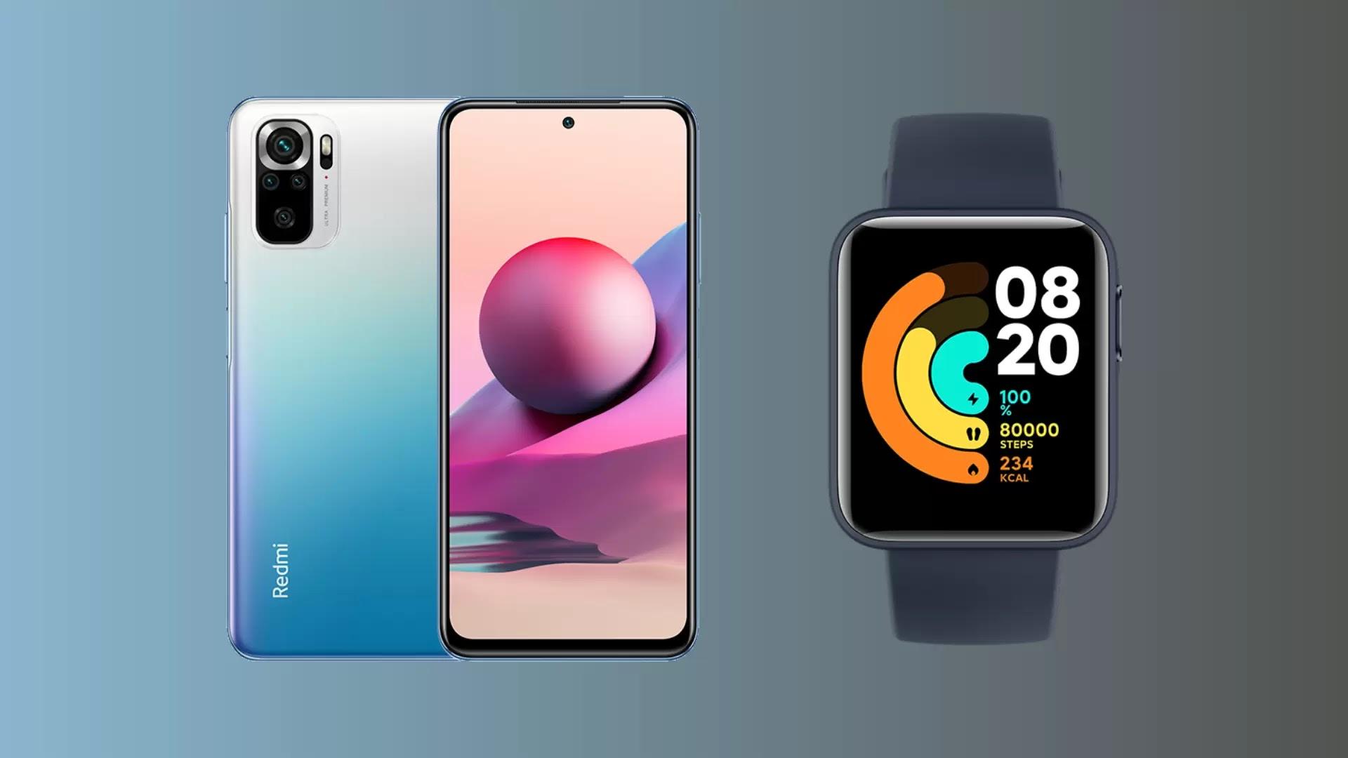 ভারতে Redmi Note 10S স্মার্টফোন এবং Redmi Watch হয়েছে লঞ্চ