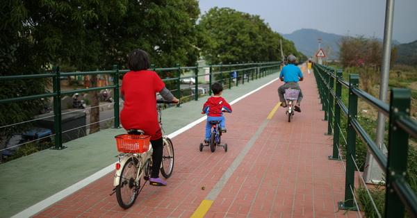 《台中.大里》全台中最美的自行車人行步道在這裡