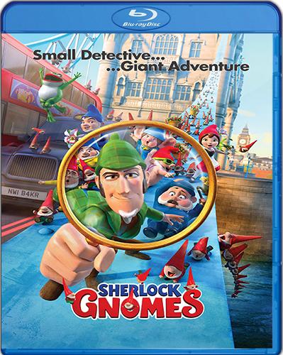 Gnomeo & Juliet: Sherlock Gnomes [2018] [BD25] [Latino]