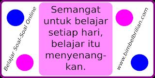 Latihan Soal Online UAS / UKK Bahasa Indonesia Kelas 3 SD Semester 2