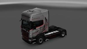 Scania RJL Silver Griffin 2015 Skin 1.1
