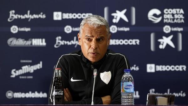 """Pellicer - Málaga - aparca su renovación: """"El entrenador solo vive del presente"""""""