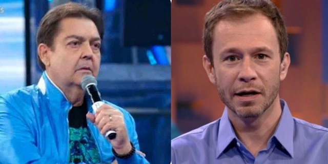Faustão é internado e Tiago Leifert vai apresentar o 'Domingão', neste domingo