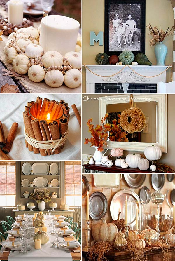 Interior Design 2014 Decoration Ideas For Thanksgiving Table