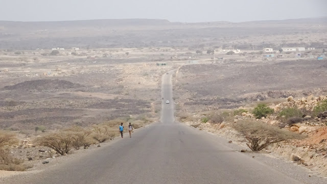 Nomands are called Afar in Djibouti