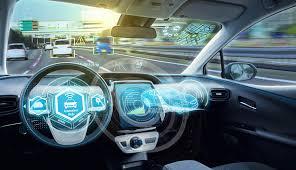 السيارة الذكية : سباق على السيارة اليه القيادة ..