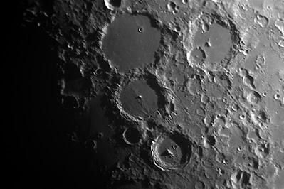 Lluna de 7,5 dies. zona cràter Tholomeu i Alphonsus - 28/06/2020