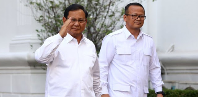Benarkan Diambil Dari Comberan, Begini Kisah Pertemuan Awal Edhy Prabowo Dengan Prabowo Subianto