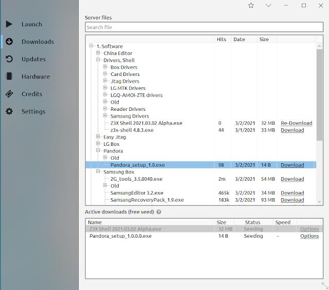 Z3x pandora setup 1.0 free download