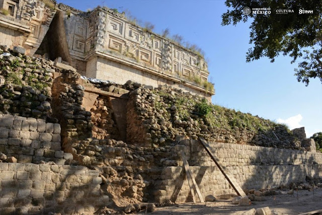 Secret passage discovered in Maya city of Uxmal