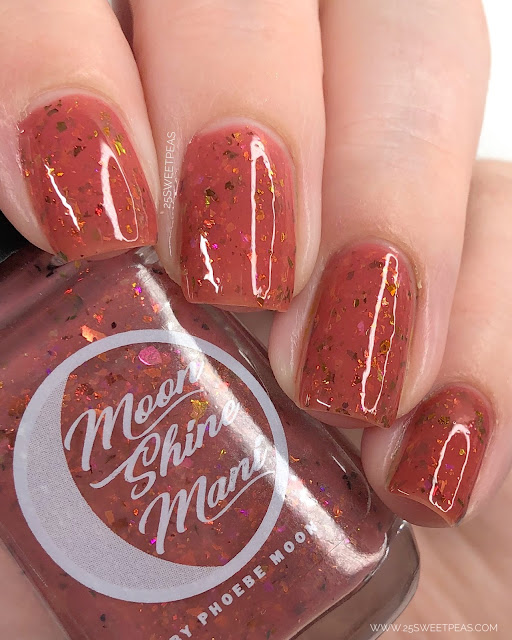 Moon Shine Mani Miss Scarlet 25 Sweetpeas
