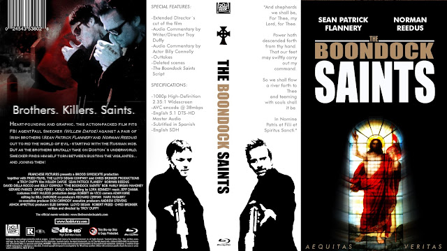 The Boondock Saints Bluray Cover