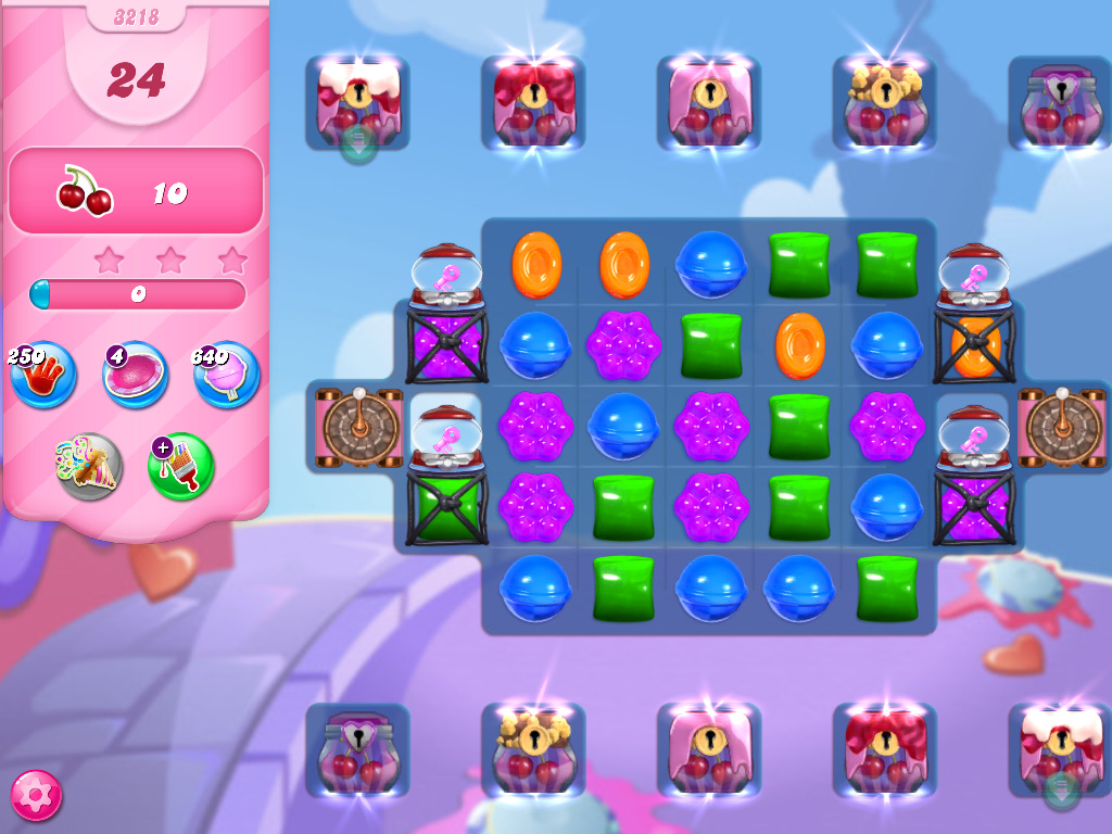Candy Crush Saga level 3218