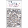 Pretty Pink Posh 6 mm clear sequins