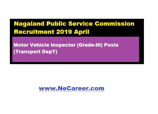 jobs in nagaland npsc
