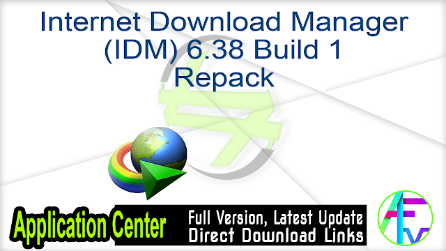 Internet Download Manager 6.38 Build 1 RePack