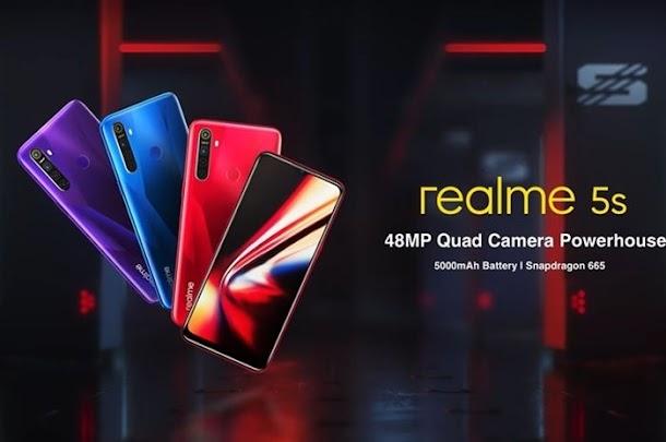 Resmi Dirilis, Ini Spesifikasi dan Harga Realme 5s di Indonesia