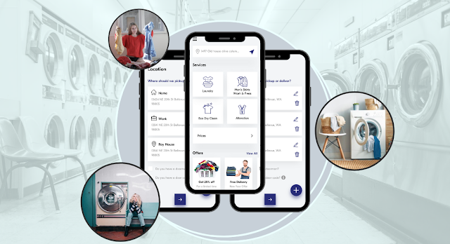 uber for laundry app development