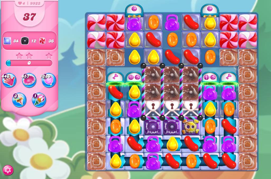 Candy Crush Saga level 9922